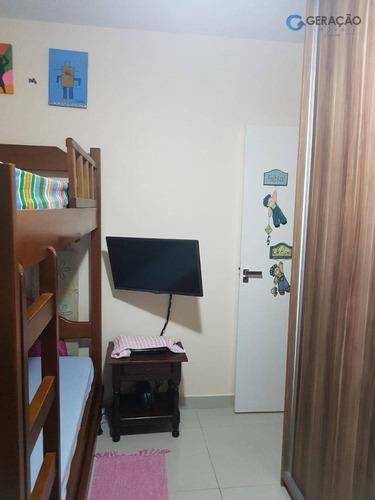 apartamento residencial à venda, jardim uirá, são josé dos campos. - ap10430