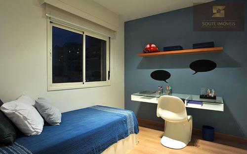 apartamento residencial à venda, jardim vila mariana, são paulo. - codigo: ap2197 - ap2197