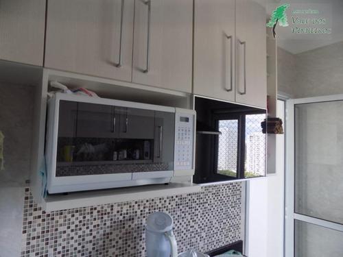 apartamento residencial à venda, jardim wanda, taboão da serra. - ap0499
