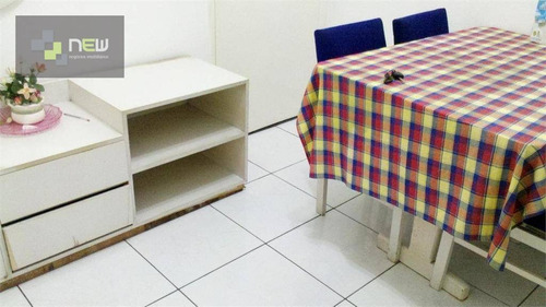 apartamento  residencial à venda, josé menino, santos. - ap0259