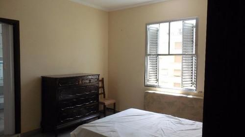 apartamento residencial à venda, josé menino, santos. - ap0891