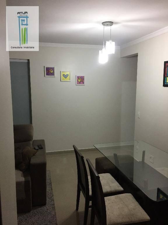 apartamento residencial à venda, lauzane paulista, são paulo. - ap0357