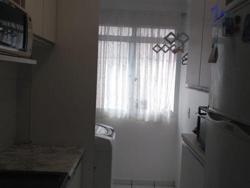 apartamento residencial à venda, loteamento nova espírito santo, valinhos. - ap0905