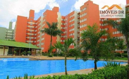 apartamento residencial à venda, loteamento parque são martinho, campinas. - ap0165