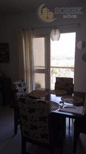 apartamento residencial à venda, loteamento parque são martinho, campinas. - ap0625