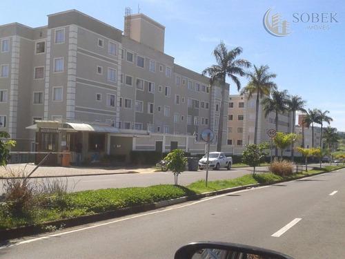 apartamento residencial à venda, loteamento parque são martinho, campinas. - ap0776
