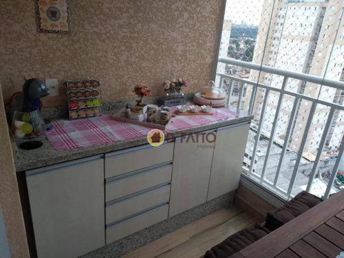 apartamento residencial à venda, macedo, guarulhos. - ap1966