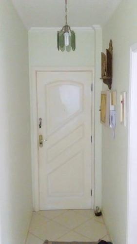 apartamento residencial à venda, macuco, santos. - ap0876