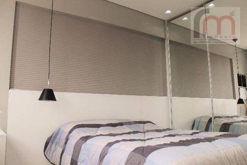 apartamento residencial à venda, macuco, santos. - codigo: ap2091 - ap2091