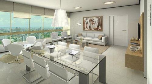 apartamento residencial à venda, madalena, recife. - ap2129