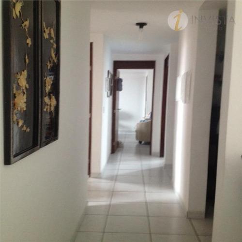 apartamento residencial à venda, manaíra, joão pessoa. - ap3782