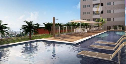 apartamento residencial à venda, manaíra, joão pessoa - ap3854. - ap3854