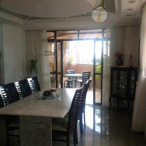 apartamento residencial à venda, manaíra, joão pessoa. - ap4187