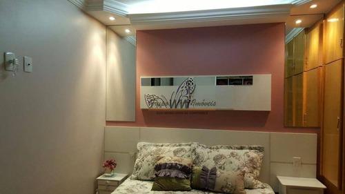 apartamento residencial à venda, mandaqui, são paulo. - ap1155