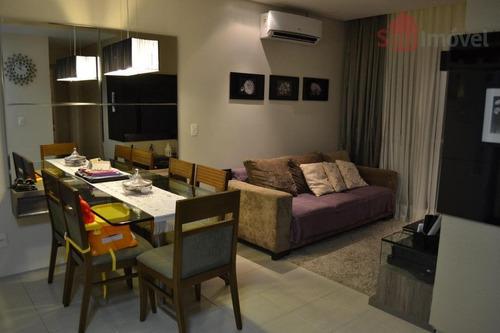 apartamento  residencial à venda, manoel dias branco, fortaleza. - ap0722