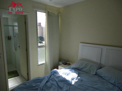 apartamento residencial à venda, mansões santo antônio, campinas. - ap0082