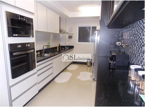 apartamento residencial à venda, mansões santo antônio, campinas. - ap0540