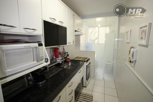 apartamento residencial à venda, mansões santo antônio, campinas. - ap0782