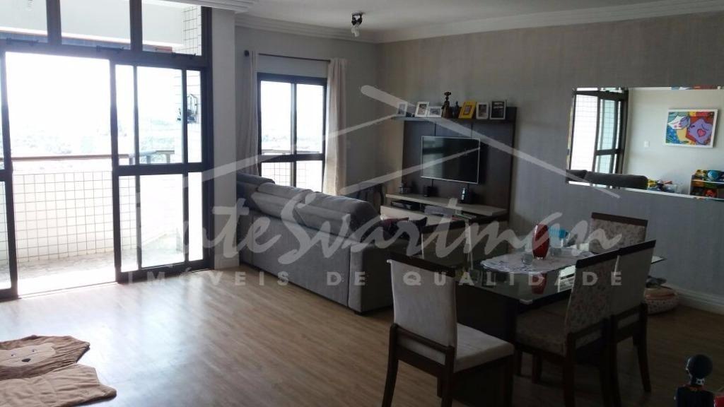 apartamento residencial à venda, mansões santo antônio, campinas. - ap1012
