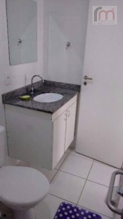 apartamento residencial à venda, marapé, santos. acqua play home & resort - codigo: ap2089 - ap2089