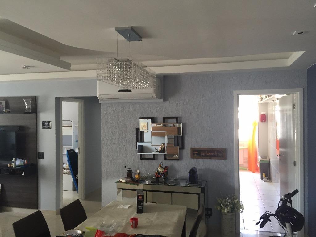 apartamento residencial à venda, marapé, santos - ap1043. - ap1043