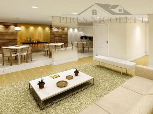 apartamento residencial à venda, marapé, santos. - ap4588