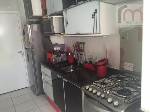 apartamento residencial à venda, marapé, santos. - codigo: ap2131 - ap2131