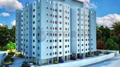 apartamento residencial à venda, martim de sá, caraguatatuba. - ap0010