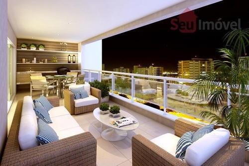 apartamento  residencial à venda, meireles, fortaleza. - ap0178