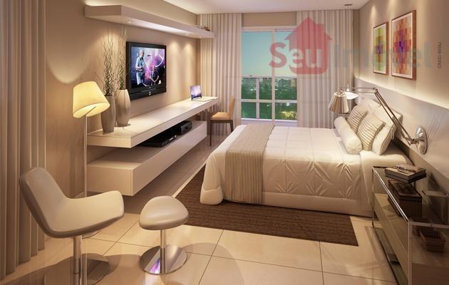 apartamento  residencial à venda, meireles, fortaleza. - ap0261