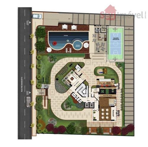apartamento  residencial à venda, meireles, fortaleza. - ap0598