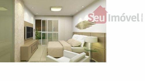 apartamento  residencial à venda, meireles, fortaleza. - ap0726