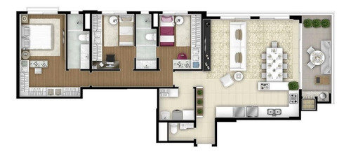apartamento residencial à venda, mercês, curitiba. - ap0506