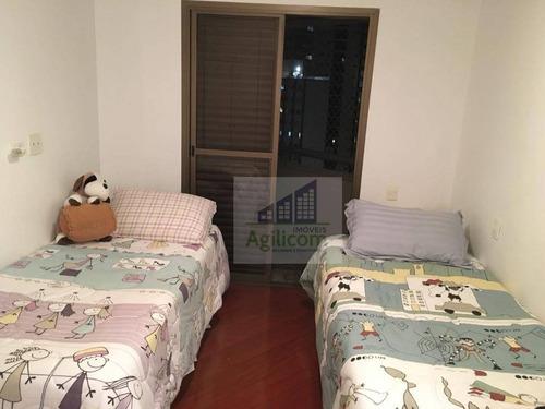 apartamento residencial à venda, moema, são paulo. - ap0071