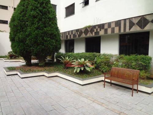 apartamento residencial à venda, moema, são paulo. - ap0832