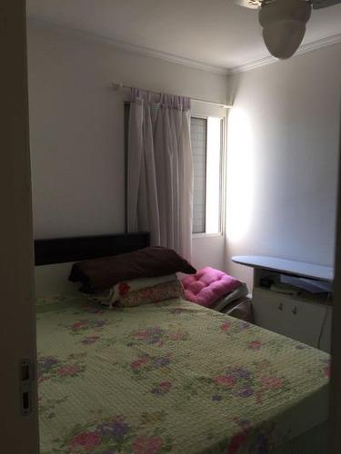 apartamento residencial à venda, monte castelo, são josé dos campos. - ap0718