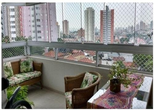 apartamento residencial à venda, mooca, são paulo. - ap0824
