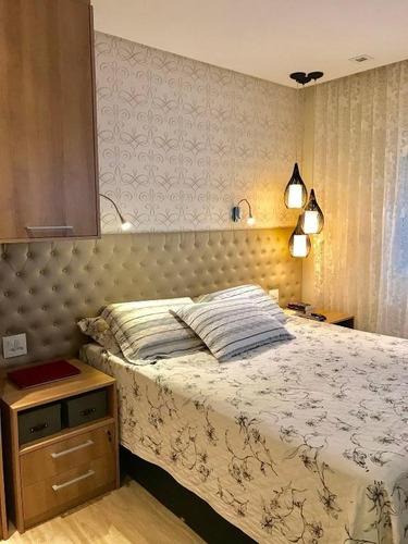 apartamento residencial à venda, mooca, são paulo. - ap1586