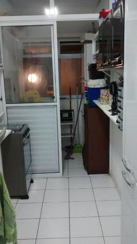 apartamento residencial à venda, morro de nova cintra, santos. - ap0656