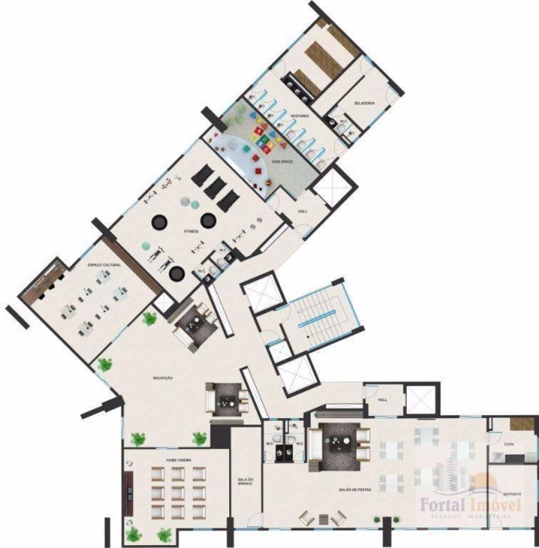 apartamento residencial à venda, mucuripe, fortaleza. - ap0108