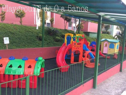 apartamento residencial à venda no guimarães rosa, bandeiras, osasco. - ap0561