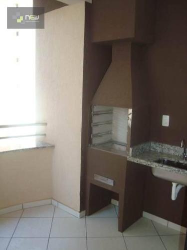 apartamento residencial à venda, nova aliança, ribeirão preto. - ap0014
