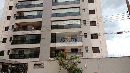 apartamento residencial à venda, nova aliança, ribeirão preto. - ap0219
