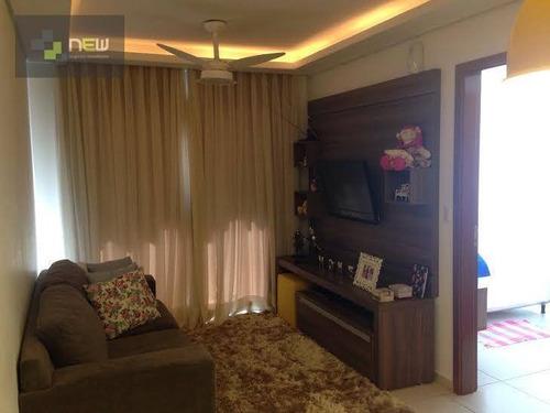 apartamento residencial à venda, nova aliança, ribeirão preto. - ap0520
