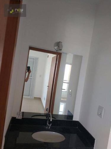 apartamento residencial à venda, nova aliança, ribeirão preto. - ap0811