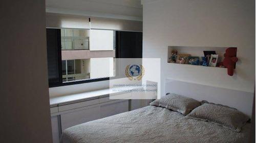 apartamento  residencial à venda, nova campinas, campinas. - ap0115