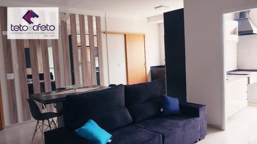 apartamento residencial à venda, nova gardênia, atibaia. - ap0317