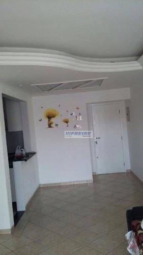 apartamento residencial à venda, nova gerti, são caetano do