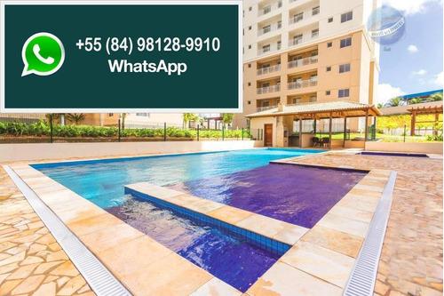 apartamento residencial à venda, nova parnamirim, parnamirim. - ap0106