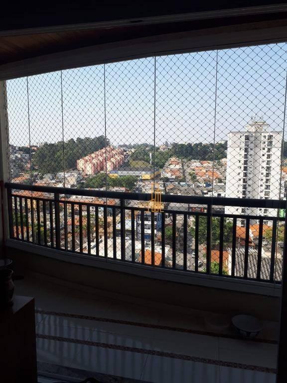 apartamento residencial à venda, nova petrópolis, são bernardo do campo. - ap1120